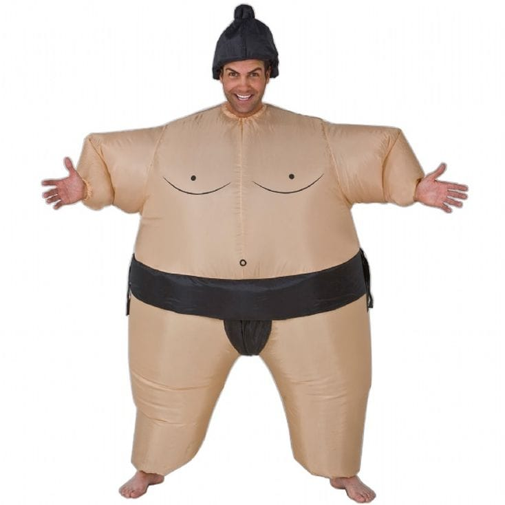 Inflatable Sumo Suits - Sumo Fancy Dress