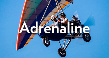 View our adreneline rush experiences