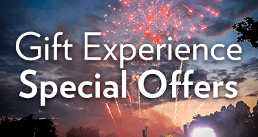 See our range of gift experience special offers