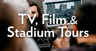See our range of TV, film and stadium tours