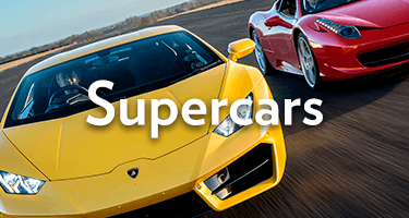 See our supercar experience days