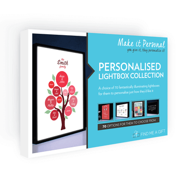 Personalised Lightbox Collection