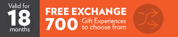 This voucher is exchangable and valid for 18 months