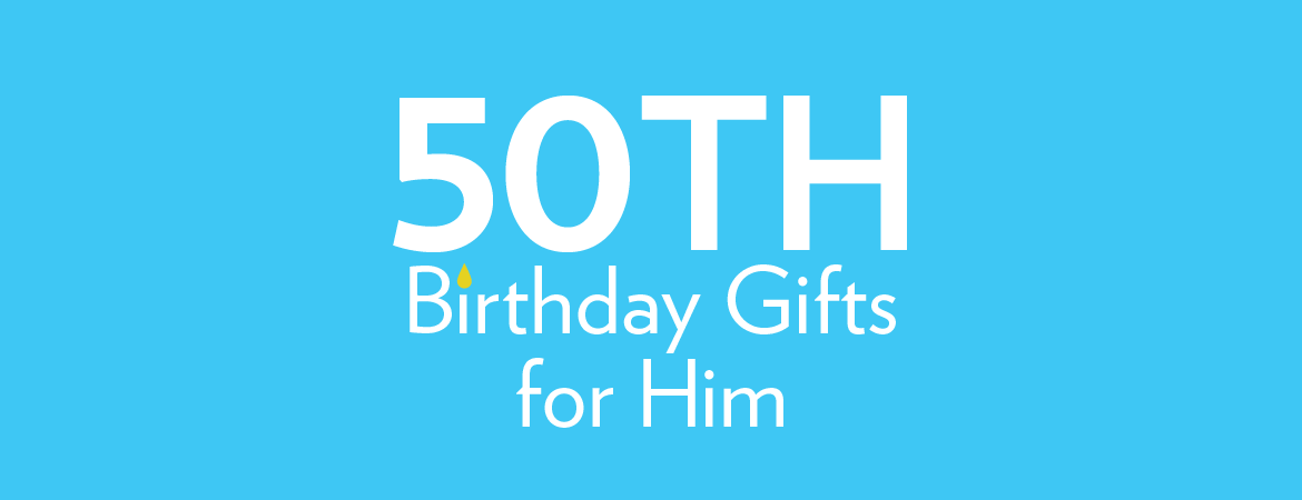 50th Birthday Gifts for Boys