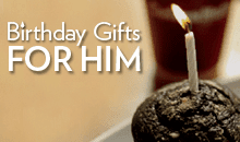 View our birthday gifts for him