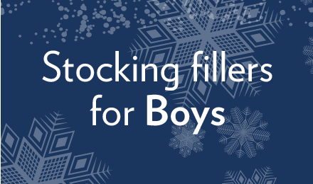 View our stocking fillers for boys