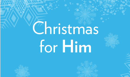 View our Christmas gifts for him
