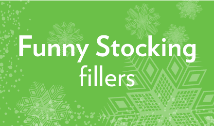See our range of funny stocking fillers