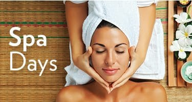View all of our spa days