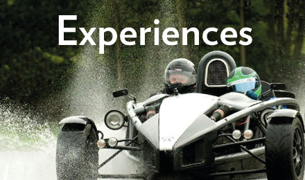 Visit the experience days section