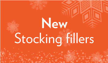 View our new stocking fillers