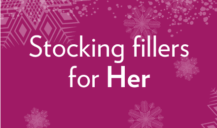 View our stocking fillers for her