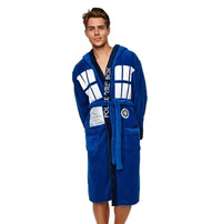 Dr Who Tardis Bathrobe