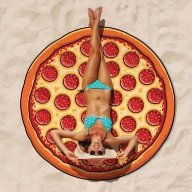 Giant Beach Towel - Pizza