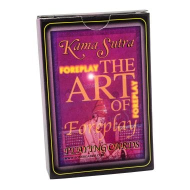 Kama Sutra Foreplay Cards