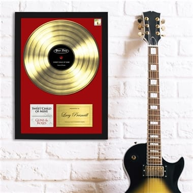 Personalised Favourite Song Poster