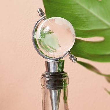 Glass Globe Bottle Stopper