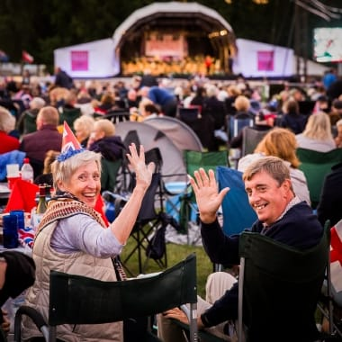 Deluxe Picnic at the Proms for Two