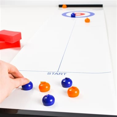 Indoor Curling Game