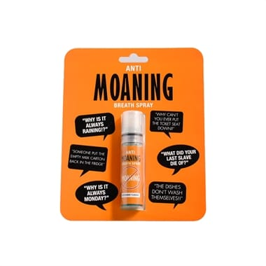 Anti-Moaning Breath Spray