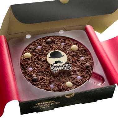 Fathers Day Gourmet Chocolate Pizza - 7 Inch