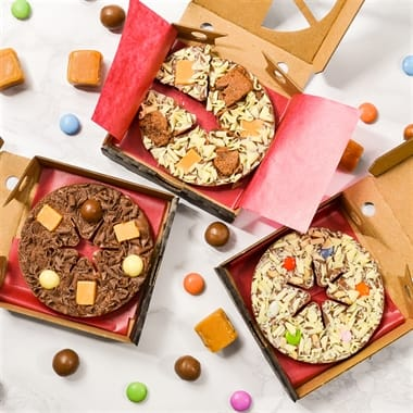 Triple Pack Mini Chocolate Pizza