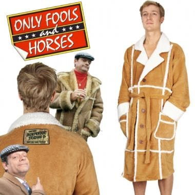 Only Fools And Horses Dressing Gown