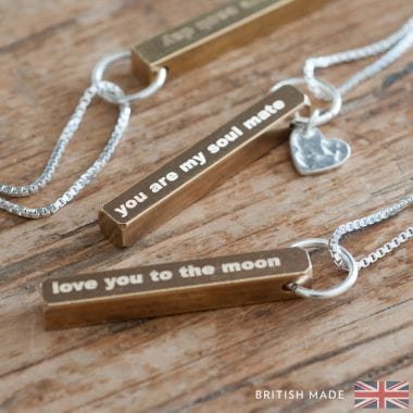Personalised Necklaces Find Me A Gift