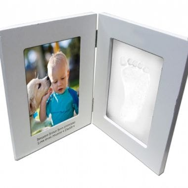 Baby Hand And Footprint Frame - Can Be Personalised