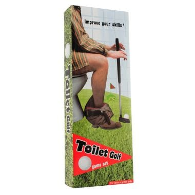 Potty Putter - Toilet Golf Game