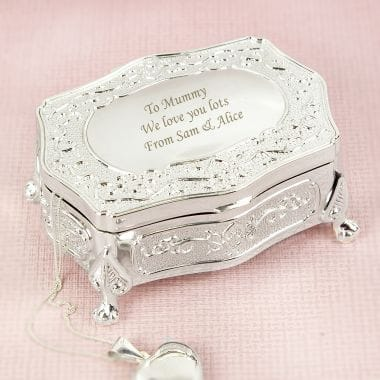 Personalised Trinket Box - Antique Finish