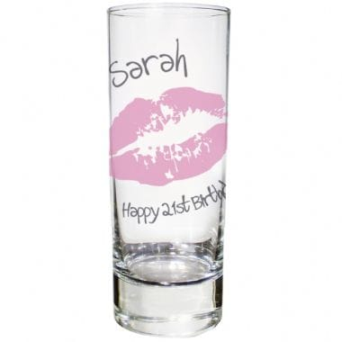 Personalised Shot Glass - Kiss