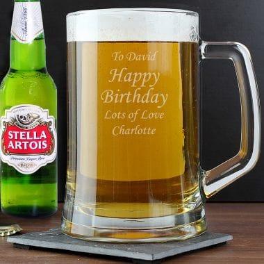Personalised Tankard Beer Gift
