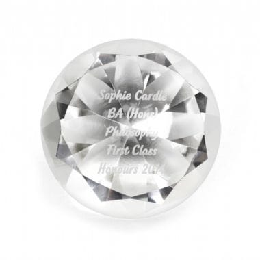 Diamond Personalised Paperweight