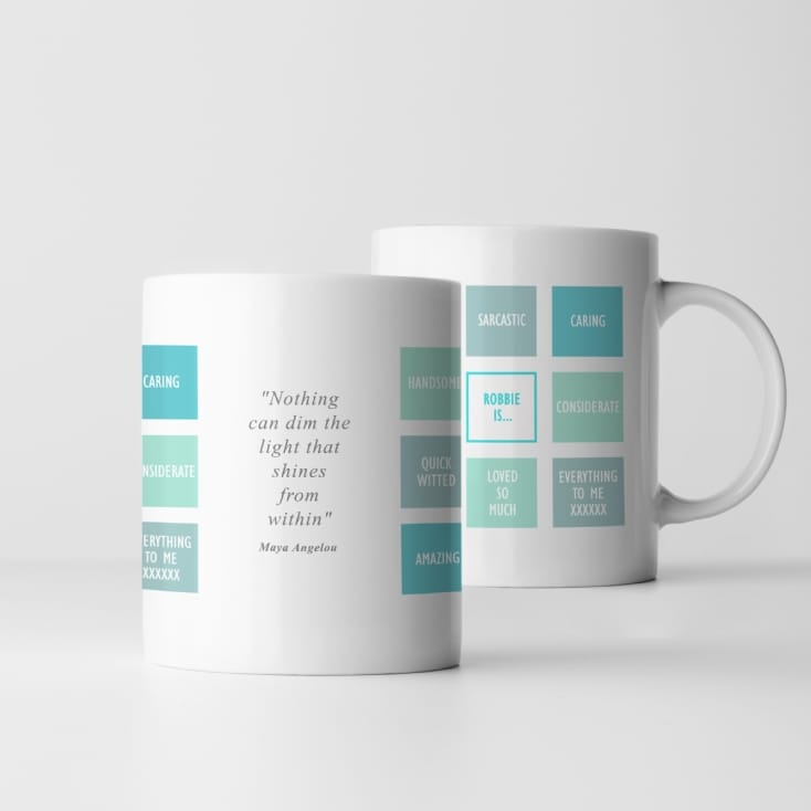 Personalised Affirmation Mug
