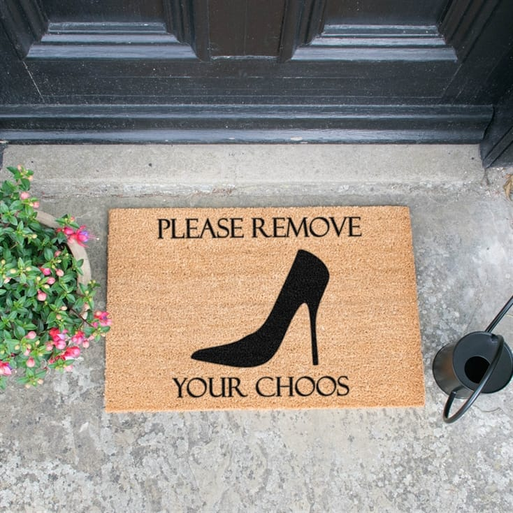 Remove Your Choos Doormat