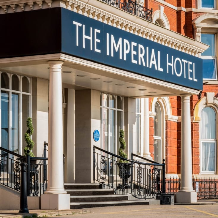 Romantic Escape with 3 Course Dinner at The Imperial Hotel Blackpool
