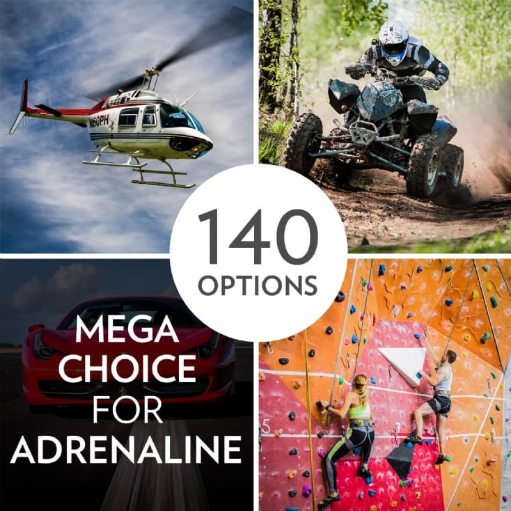 £79 Adrenaline Experience Choice