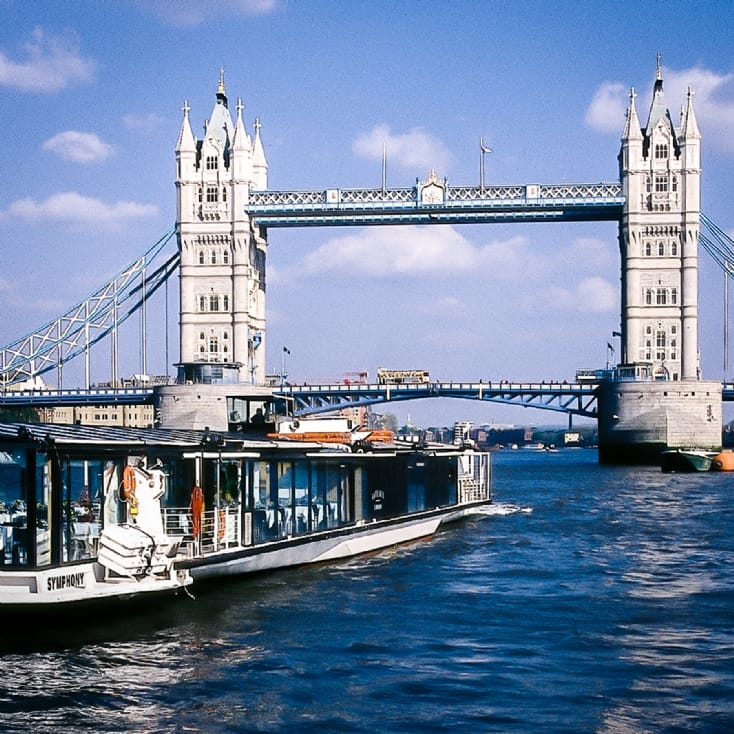 Bateaux London Lunch Cruise for Two