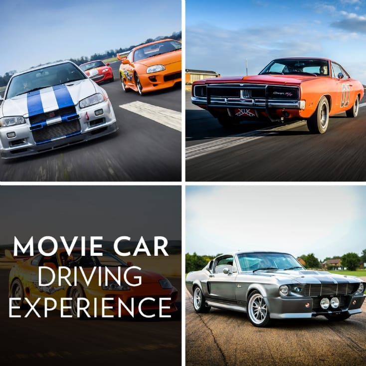Movie Car Driving Experience