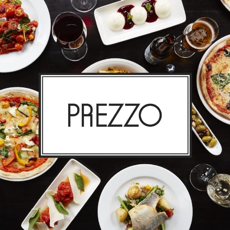 Italian Dining for Two at Prezzo