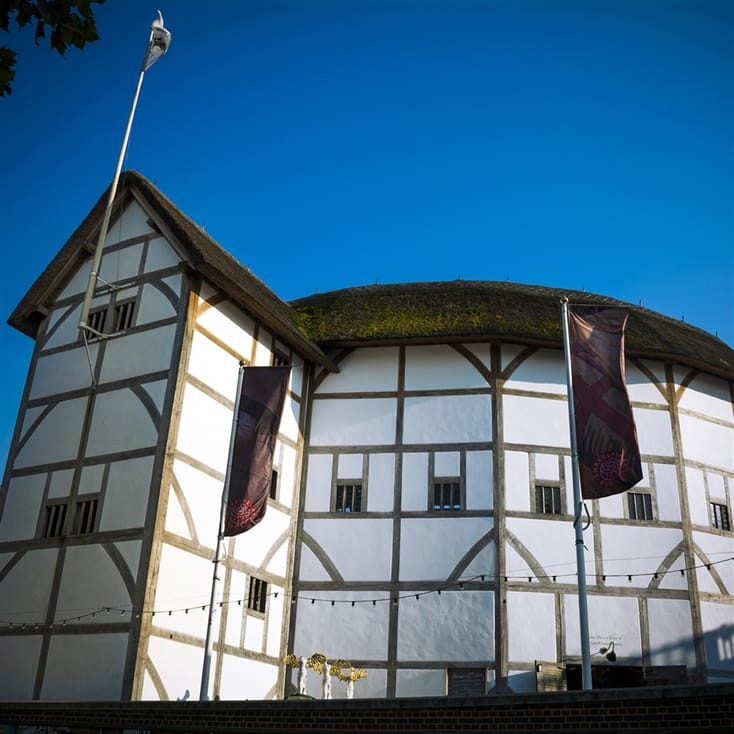 Visit to Shakespeare's Globe and Meal for Two
