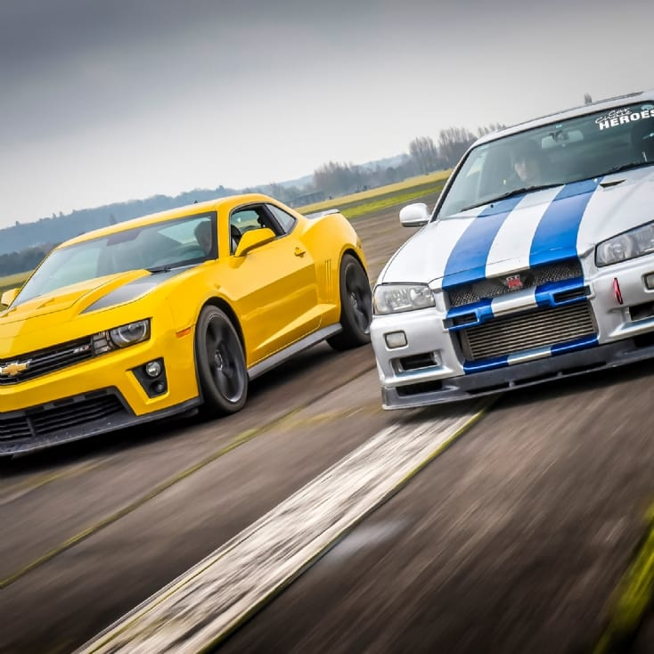Camaro ZL1 or Nissan Skyline Driving Experience