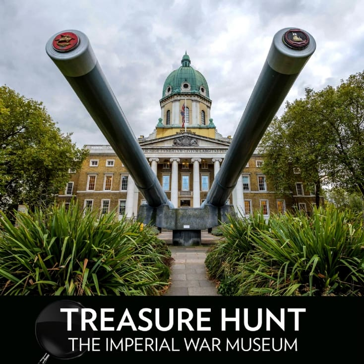 Treasure Hunt at The Imperial War Museum