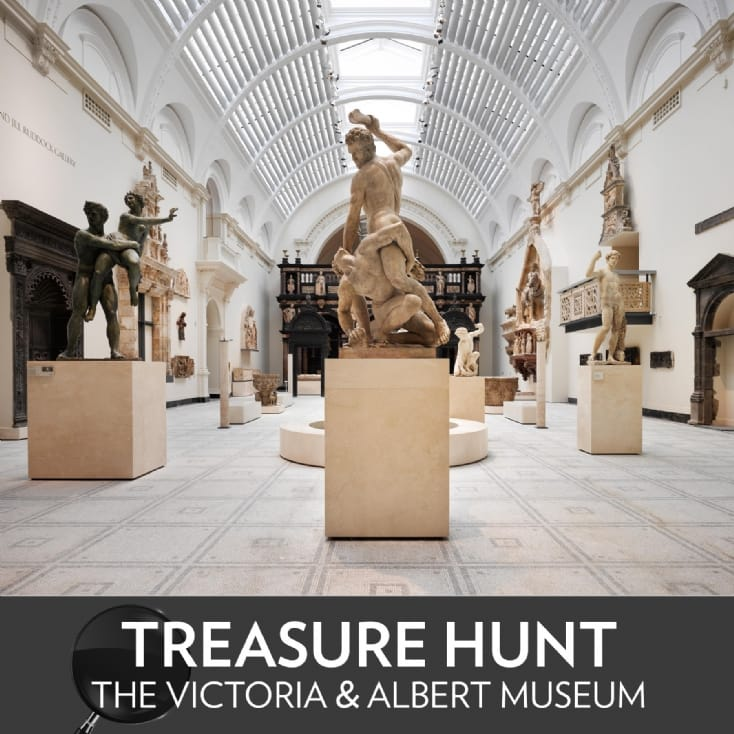 Treasure Hunt at The Victoria & Albert Museum