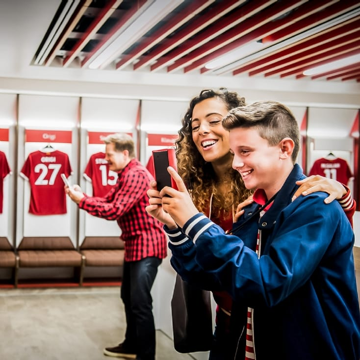Liverpool FC Adult and Child Stadium Tour
