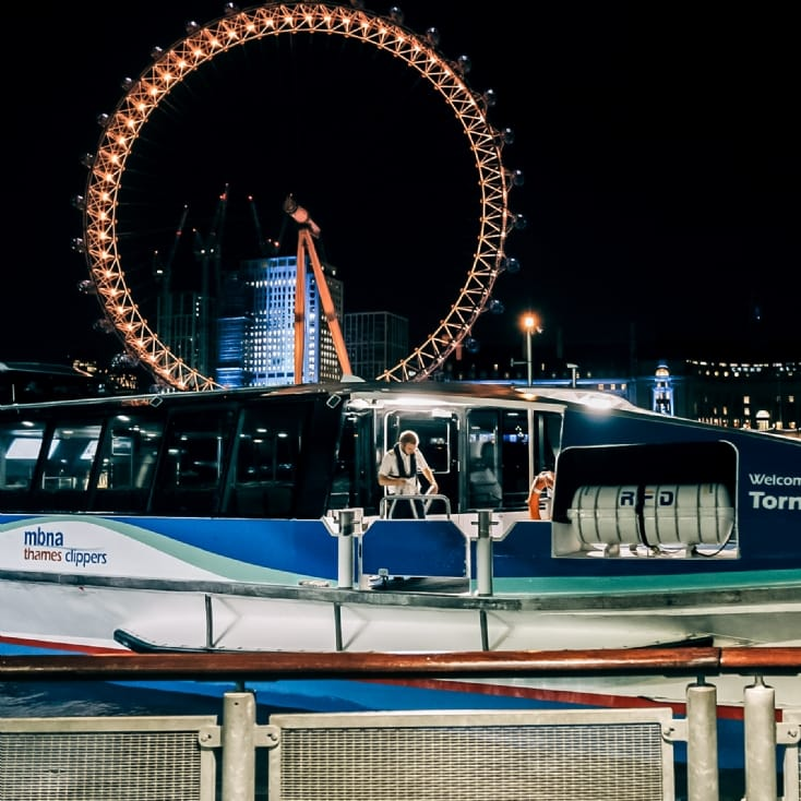 London Ghost Boat Tour for Two