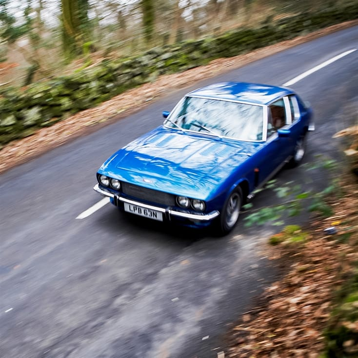 Classic Car Drive in the Cotswolds