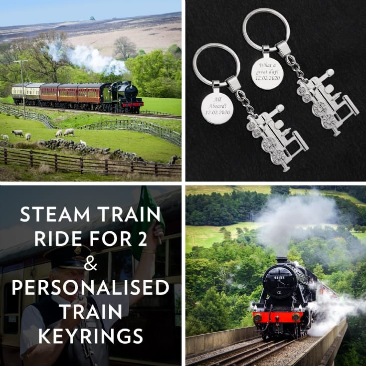 The Perfect Gift for Steam Train Enthusiasts