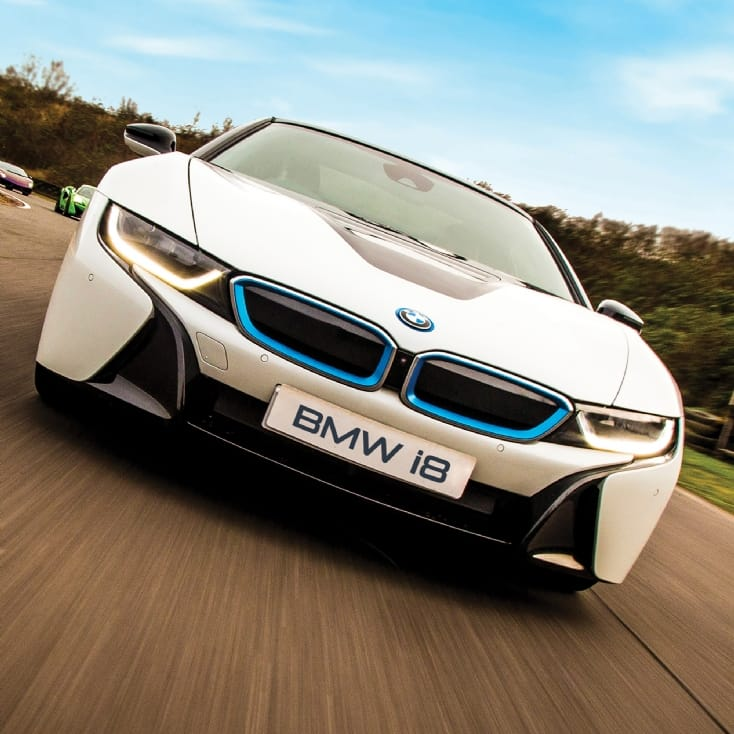 Electric Supercar Blast - BMW i8